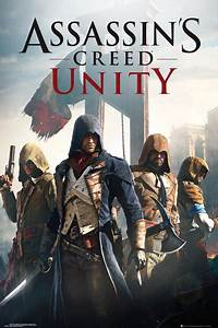 ASSASSINS CREED: UNITY - GAMING POSTER / PRINT (GAME COVER ...