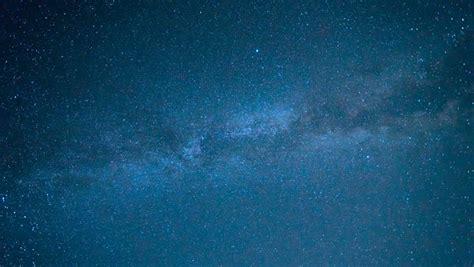 Night Sky Milky Way Stars Rotation Background Time Lapse