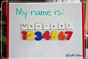 78 best images about preschool all about me theme on With fun in your name letters