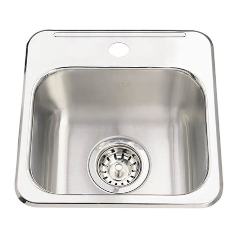 bar sinks for sale kindred qsl1313 6 steel queen topmount 13 63 in single