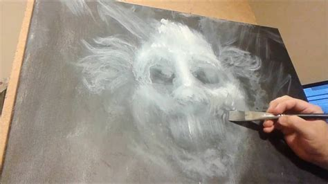 Horror Painting Timelapse 3  Clown Youtube
