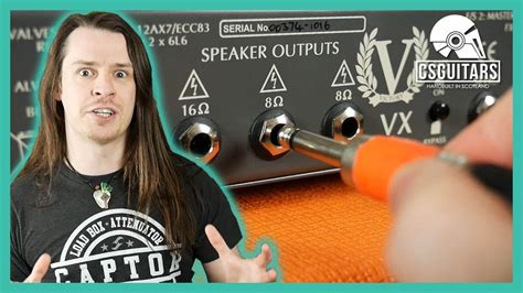 Why You Must Connect Speaker Cabinet Your Amp Youtube