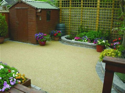 Patio In The Garden by Resin Bonded Patios Wales Call Tiny Patio Gardens