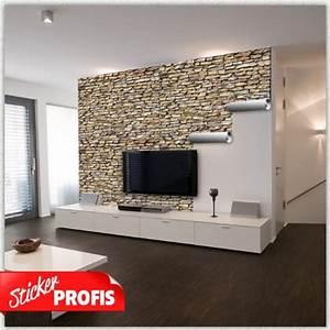 Folie Möbel überkleben : steinwand folie selbstklebend ~ Michelbontemps.com Haus und Dekorationen