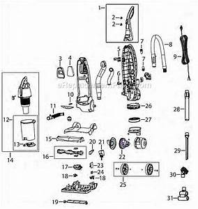 Bissell 16n5 Parts List And Diagram   Ereplacementparts Com