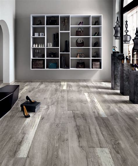 gray kitchen cabinets ideas legend grey 8 in x 48 in porcelain wood look tile