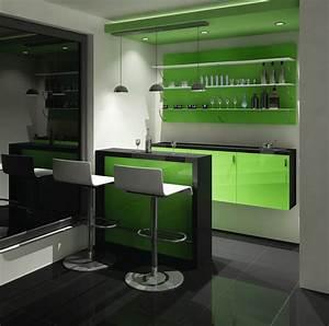 Cocktailbar Für Zuhause : hausbar wohnzimmer ~ Indierocktalk.com Haus und Dekorationen