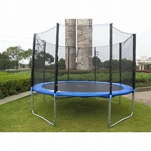 Prix D Un Trampoline : trampoline avec filet 2m45 ~ Dailycaller-alerts.com Idées de Décoration
