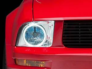 Mustang Headlight W   Ccfl Halo   U0026 39 05- U0026 39 09