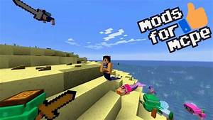Mermaid Tail Mods For Minecraft Pocket Edition APK