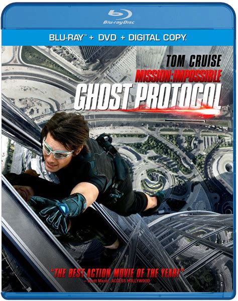 dvd mission impossible protocol ghost blu ray brad bird opening optional commentary director deleted ultraviolet alternate trailers copy digital