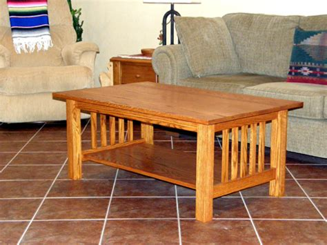 Craftsman Style Coffee Table  Done! Ravenview