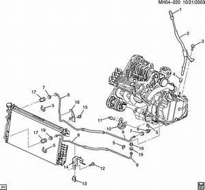 Oil Line Diagram 2003 Buick Lesabre Parts