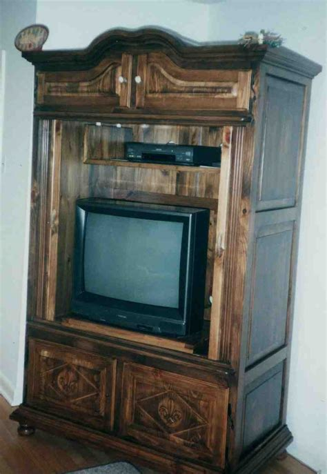 Armoire For Tv With Doors by Armoire Tv Stand Home Furniture Design
