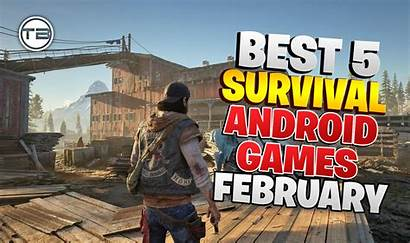 Games Survival Android February