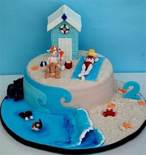 faire un gateau plage univers cake
