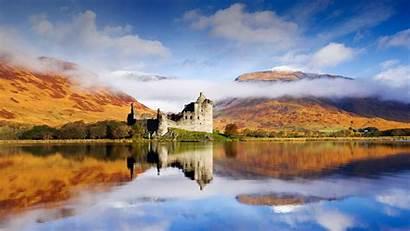 Castle Loch Awe Kilchurn Bing Scotland Wallpapers