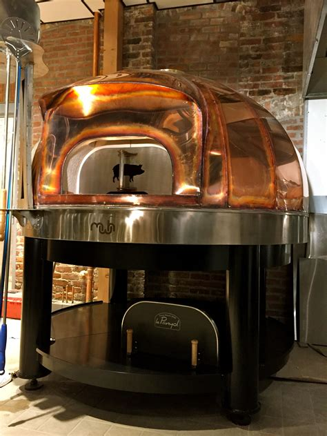 moodys  waltham ma copper dome wood fired oven