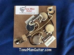Sg Gibson Epiphone Prebuilt Wiring Upgrade Kit