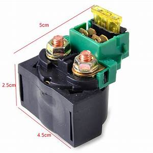 Motorcycle Starter Relay Solenoid Fit For Kawasaki Zx600