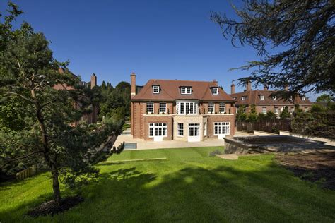 elegant contemporary english mansion  hampstead idesignarch interior design architecture