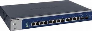 Netgear Xs512em  Switch  12