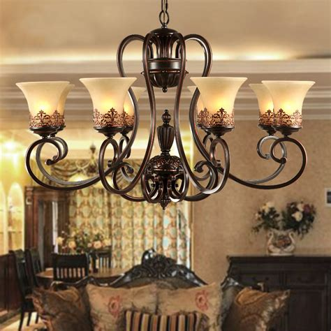 aliexpress buy antique black wrought iron chandelier