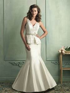 buy cheap mermaid v neckline sweep train dress for 2014 With wedding dress party