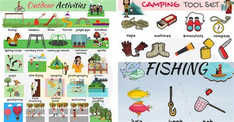 activities clipart outdoor activity activities outdoor