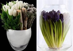 Tulpen Im Glas Ohne Erde : gestalten sie wundersch ne fr hlingsdeko mit fr hlingsblumen freshouse ~ Frokenaadalensverden.com Haus und Dekorationen
