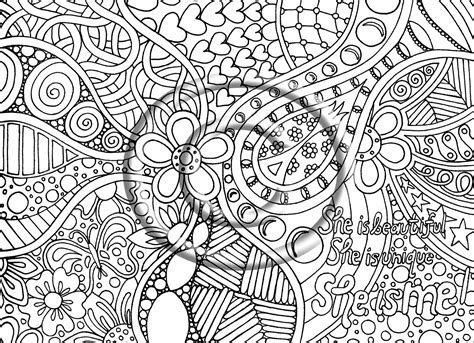 Free Printable Abstract Coloring Pages For Adult Image 30