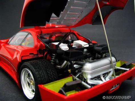 RED LINE Ferrari F40 GTE #44 Le Mans 1996 Rosenblad ...