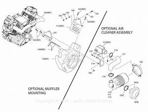 Generac 0e3480 Parts Diagram For Muffler Mounting  Air