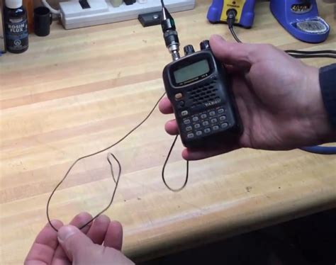Ham Radio Wiring by Improve Your Ht Ham Radio By Adding A Counterpoise Antenna