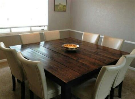 1000 ideas about square dining tables on
