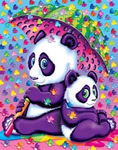 Lisa Frank Panda