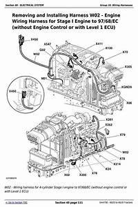 John Deere Tractors 6020  6120  6220  6320  6420  6520