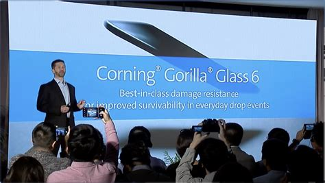 corning announces gorilla glass 6 to be stronger than