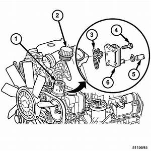 Where Is The Oil Filter Located In A 2004 Dodge Sprinter Van