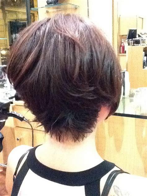 coupe de cheveux femme carre plongeant