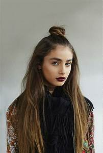 17 Trendy Half Bun Hairstyles For 2016 Pretty Designs