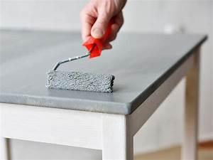 comment peindre un meuble en melamine ou stratifie With comment peindre un meuble stratifie