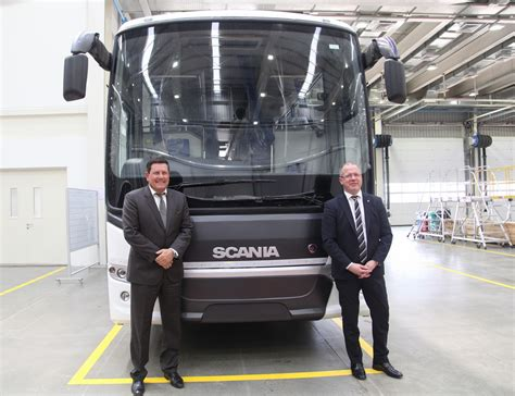 scania india inaugurates bus manufacturing facility