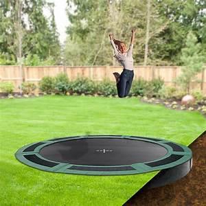 In Ground Trampolin : 12ft round in ground trampoline inground trampolines backyard backyard play in ground ~ Orissabook.com Haus und Dekorationen