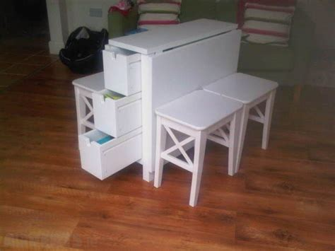Ikea Norden Table & Ingolf Stools X 4  For The Home