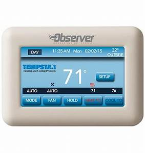 Tempstar Thermostat Manual