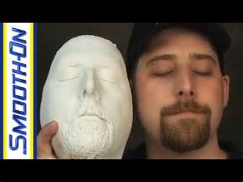 lifecasting tutorial     mold   face
