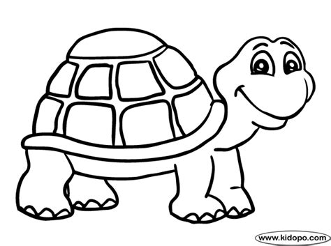 Coloring Turtle by Turtle 1 Coloring Page