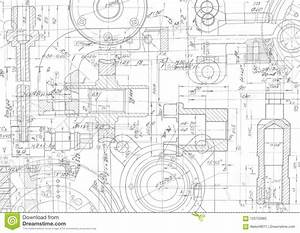 Technical Drawing Background  Mechanical Engineering