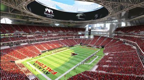 Mercedes-Benz Stadium, Atlanta Falcons football stadium